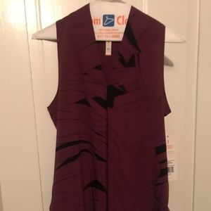Lucy Tops - NWT Lucy transcend sleeveless grape top
